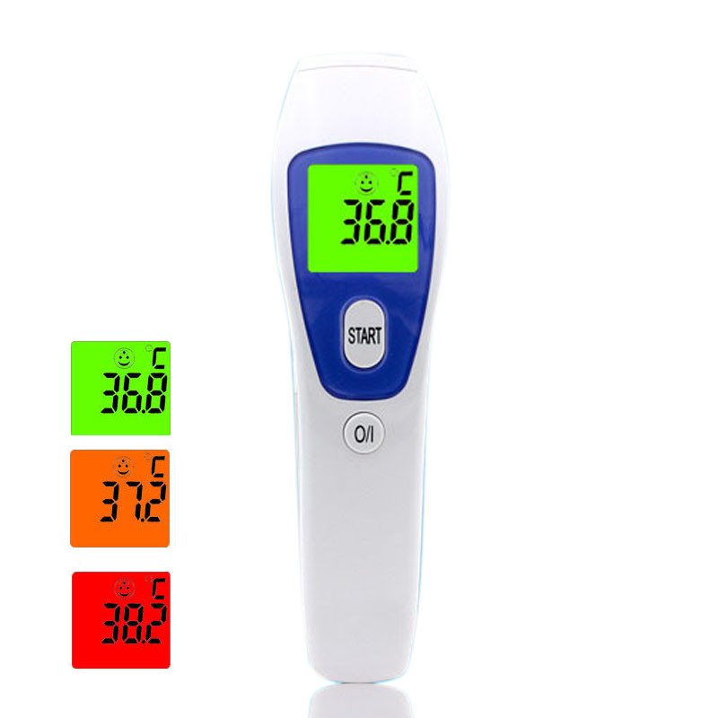 Smat Home 2 in 1 Digital Infrared Non-contact Forehead Infant Electronic Body Object Thermometer for Baby Kids Safe