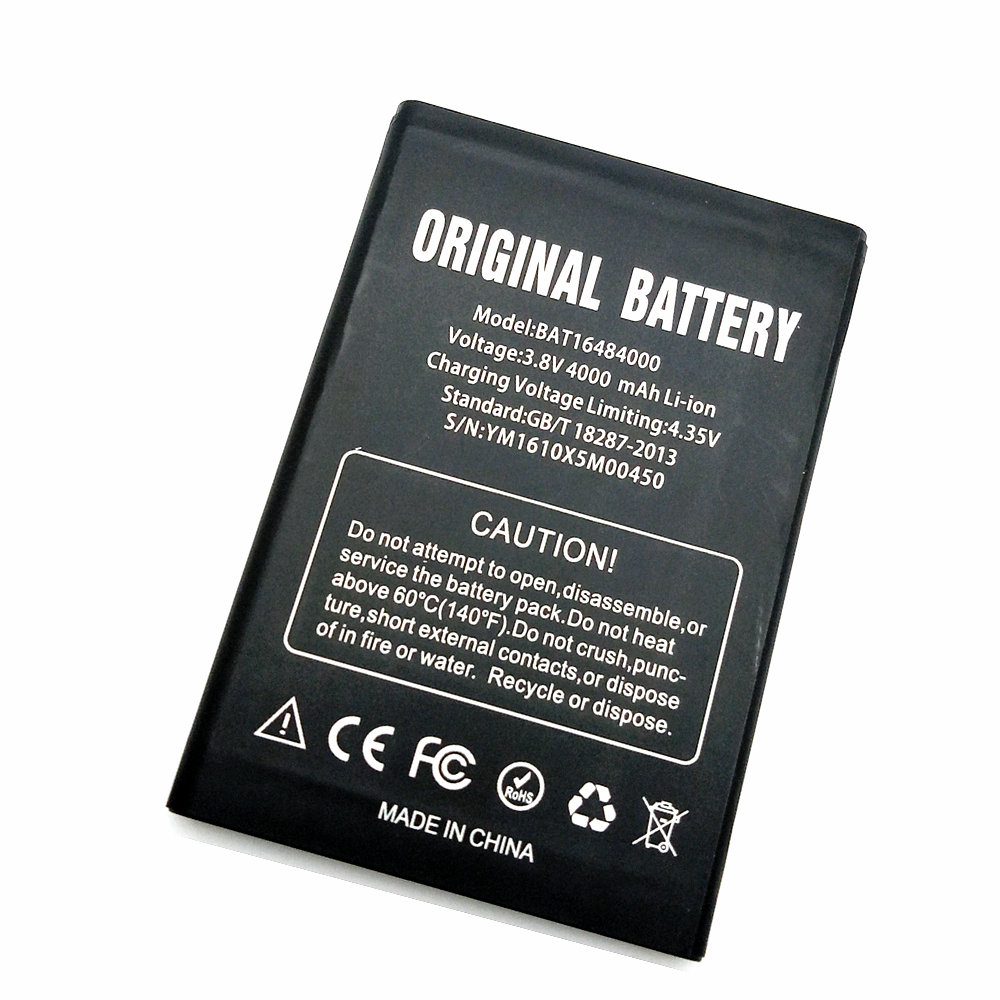 Stonering 4000mAh BAT16484000 battery for DOOGEE X5 MAX x5max Pro cell phone