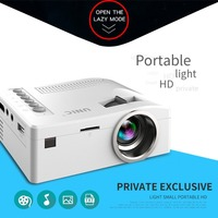 UC18 HD 1080P TFT LCD Compact Siz eHome Mini HD Projector TV Multi Media Player Theater Home Cinema Video Projector
