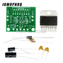 10pcs TDA7297 amplifier board spare parts dc 12v grade 2.0 dual audio encoding 1