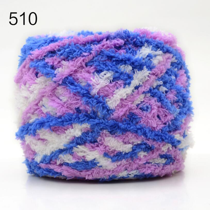 500g/bag/5pcs Mixed color Coral velvet cashmere Yarn knitting Thick woolen line/yarn for children/adult sweater scarf keep warm