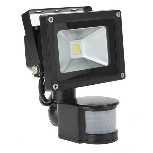 10w20w 800lm pir motion sensor security led flood light 85 265v 10w20w 800lm pir motion sensor security led flood light 85 265v adjust low aloadofball Images
