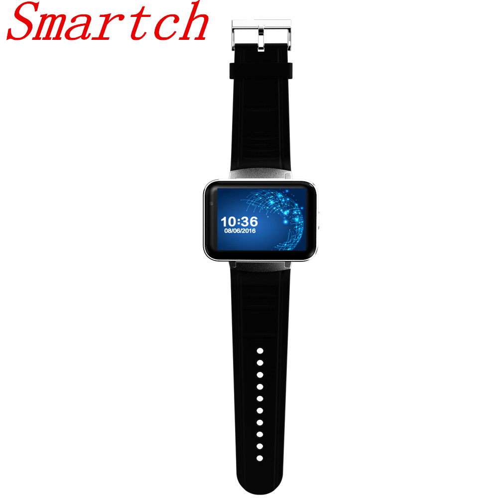 Smartch DM98 Smart Watch MTK6572 A OS 3G WIFI GPS Bluetooth 4.0 Support SIM Card Dual Core 4GB ROM Camera Smartwatchndroid 4.4