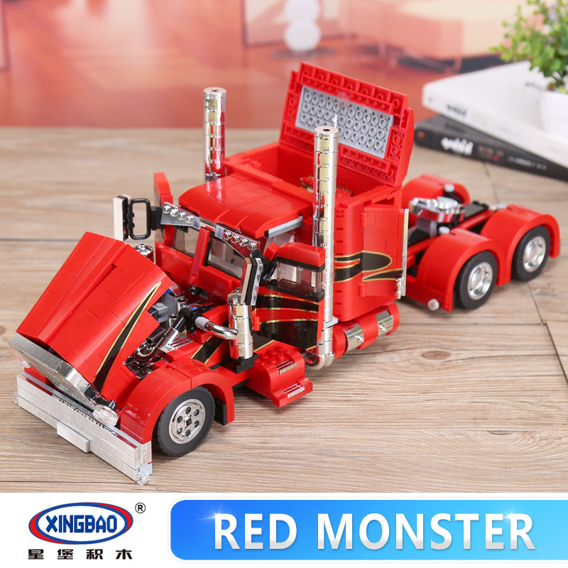 Здесь продается  XingBao 03012 1505Pcs Genuine Technic MOC Series The Red Monster Set Children Educational Building Blocks Bricks Toys Model Gift  Игрушки и Хобби