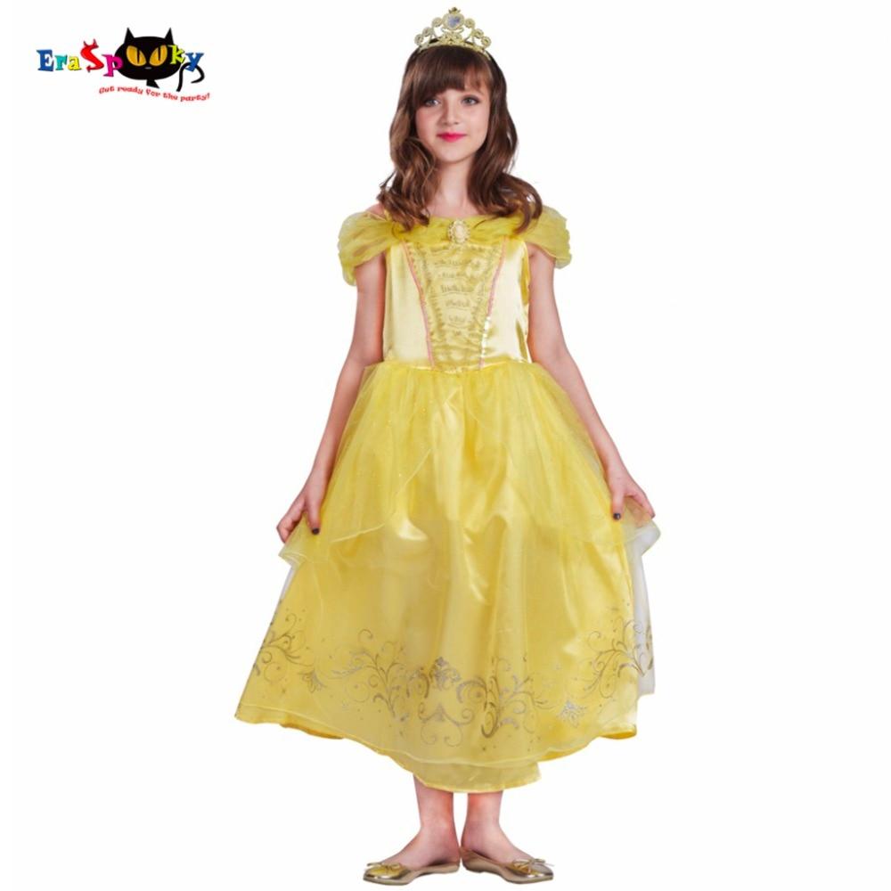 Belle ruha gyerekek hercegnő ruhák lányok karácsonyi ruhák - Jelmezek