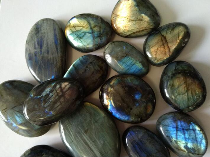 Wholesale Natural Labradorite Crystal Rough Polished Rock