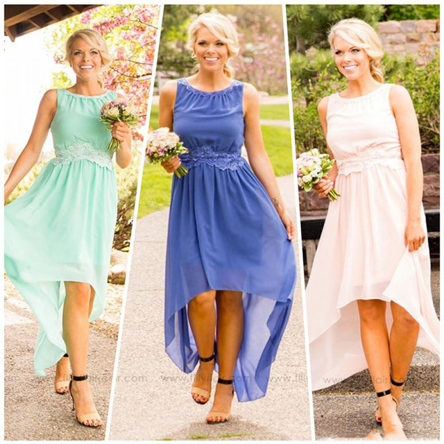 Summer Country Bridesmaid Dresses