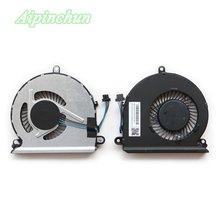 Новый оригинальный ЦП охлаждающий вентилятор для hp 15 au au016cl