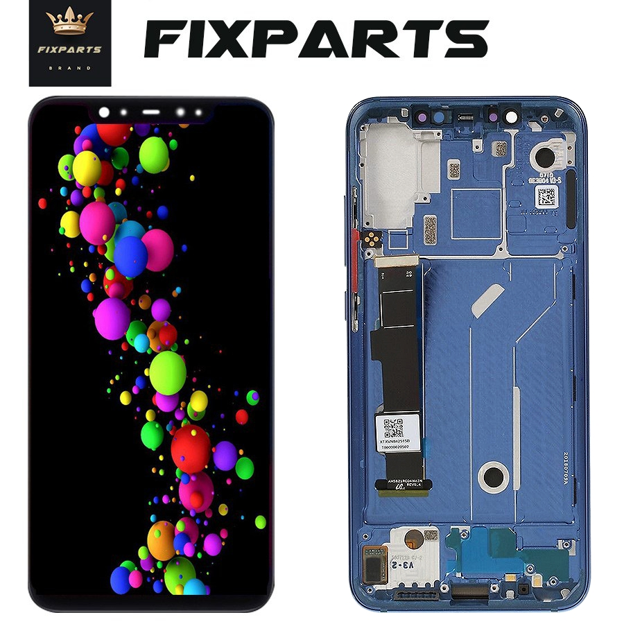 Amoled Screen Xiaomi Mi 8 LCD MI 8 Explorer Display Digitizer Assembly Touch Screen Replacement 6
