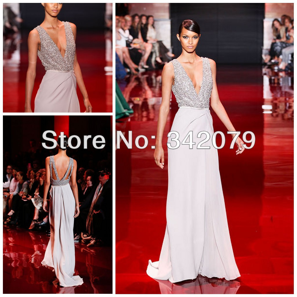 Buy ph03422 silver v neck bodice with for Haute couture dress price