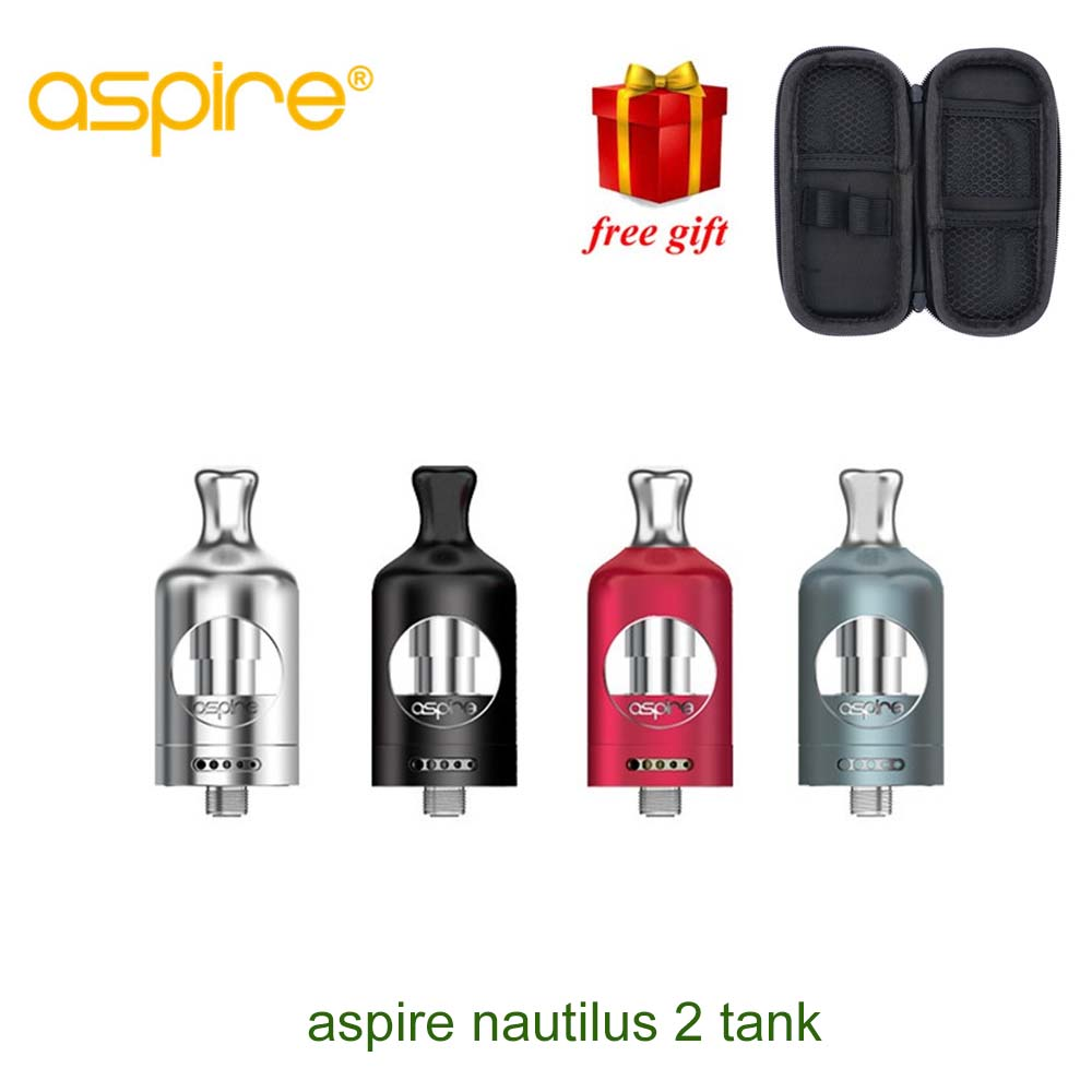 Free gift!!! Original Newest Aspire Nautilus 2 Tank 2mL TPD Compliant Aspire Atomizer Fit For Aspire Zelos 50w Mod цены онлайн
