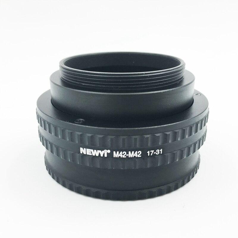 Image 4 - NEWYI M42 M42 крепление Регулируемая фокусировка Helicoid адаптер 17 31 мм объектив преобразователь камеры Адаптер кольцо-in Адаптер объектива from Бытовая электроника