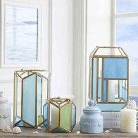 모로코 램프 기하학 금속 촛대 candelabra 벽 캔들 홀더 sconce 스틸 양초 웨딩 장식 홈 등대