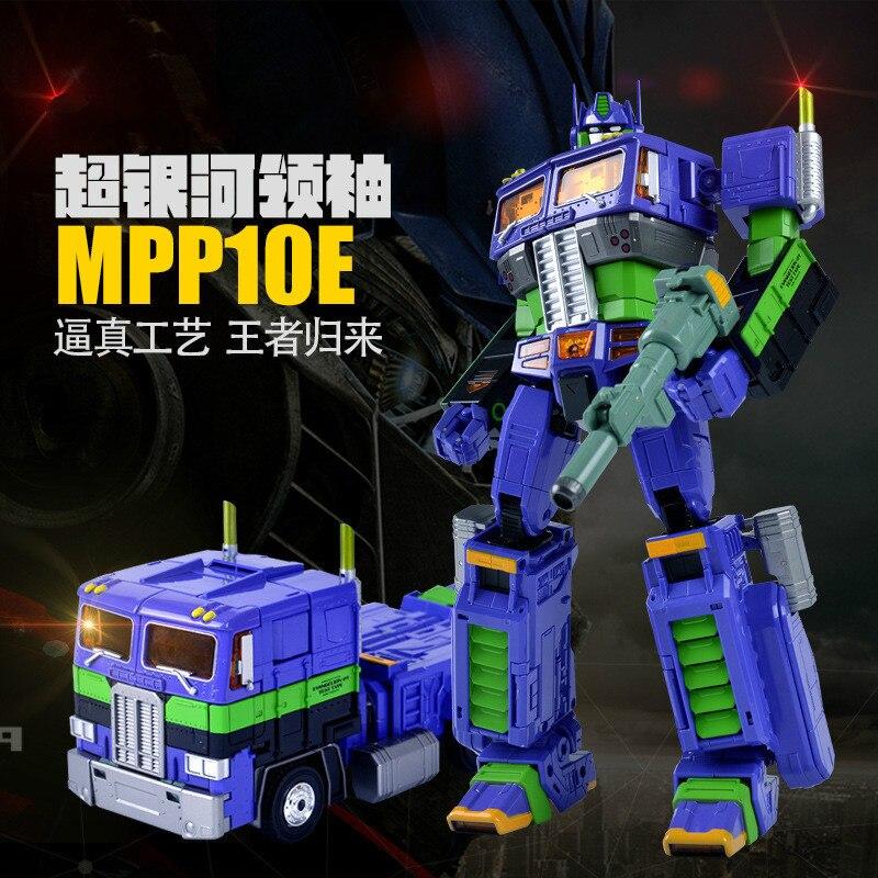 Weijiang Deformation MPP10 E MPP10 EVA Purple Alloy Diecast Oversized metal part Transformation Robot G1 figure model in Box