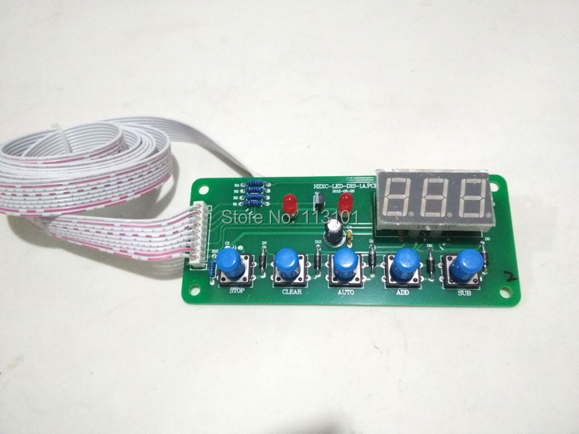New Control System Panel Spare Part Replacement for MQL Soft Ice Cream Machines цена