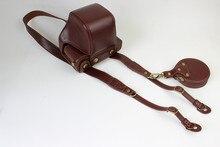 Free Factory Digital Camera Full Body Bag Case Genuine Leather Case Cover for Fujifilm x-Pro2 x-pro 2 / xpro 2 / xpro2 Coffee