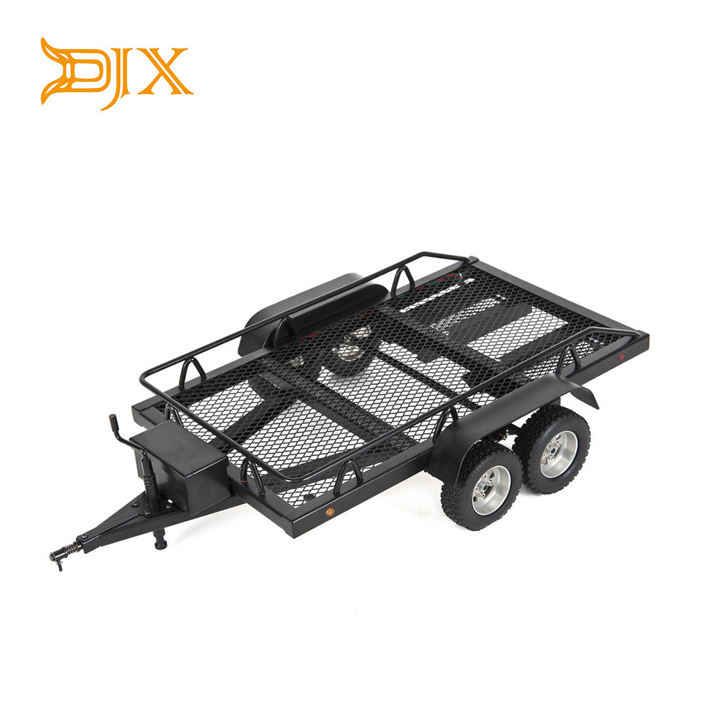 1 10 Heavy Duty Truck and RC Cars Trailer Crawler Truck for Rc Rock Crawler Truck