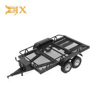1:10 Heavy Duty Truck and RC Cars Trailer Crawler Truck for Rc Rock Crawler Truck Traxxas Trx4 Axial Scx10 90046 90047 CC01 D90