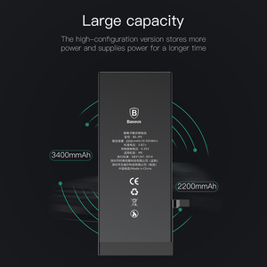 Image 3 - Baseus Battery For iPhone 6s 6 s 5s 5 5c 7 8 Plus Original High Capacity Bateria Replacement Batterie For iPhone X Xs Max Xr 7P