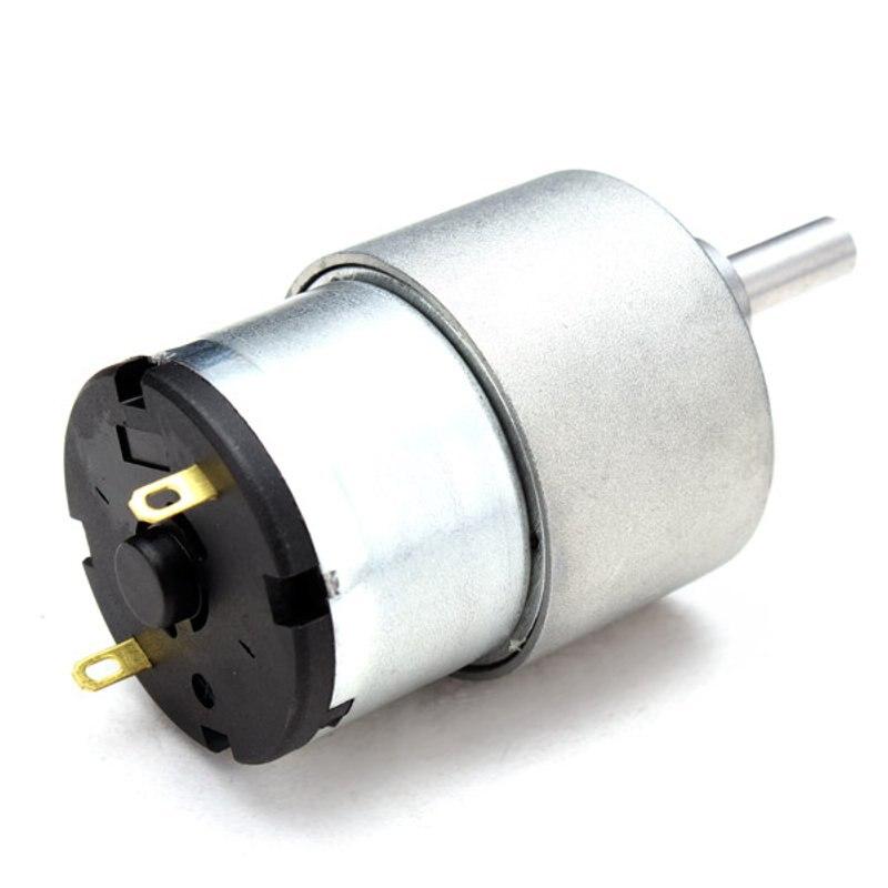 12 V DC Metall Getriebe Minderer Motor Hohe Drehmoment DC Getriebe Motor Förderung