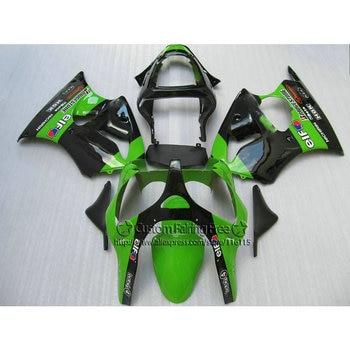 Injection fairings set for Kawasaki ZX-6R 2000-2002 fairing kit Ninja 636 ZX6R 00 01 02 green black new aftermarket parts LX69