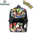 Pokemon Backpack for Boys Girls Japanese Anime Picachu Backpack for School Students School Bags Kids Children School Backpacks