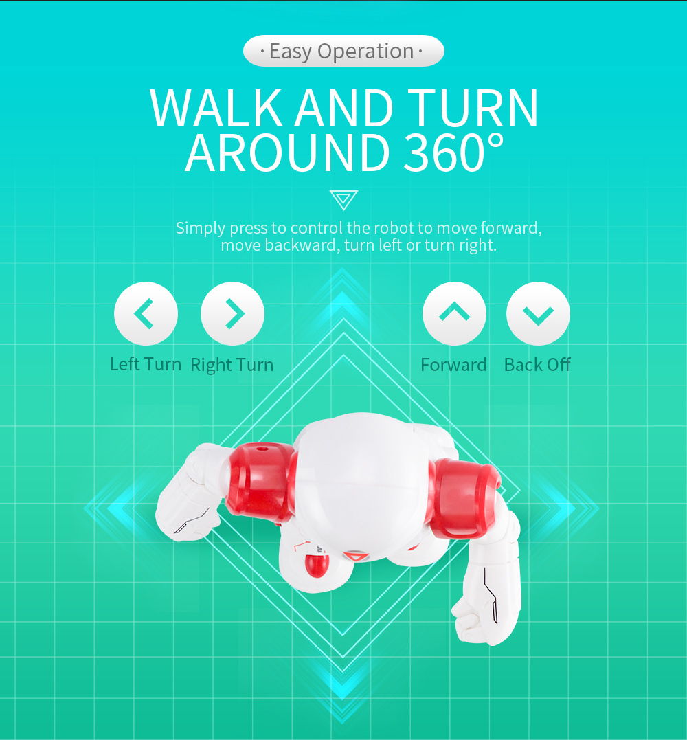 JJRC R12 Remote Control Smart Robots Cady Wiso RC Robot Gesture Sensing Touch Intelligent Dancing Electronic Toy For Children (10)