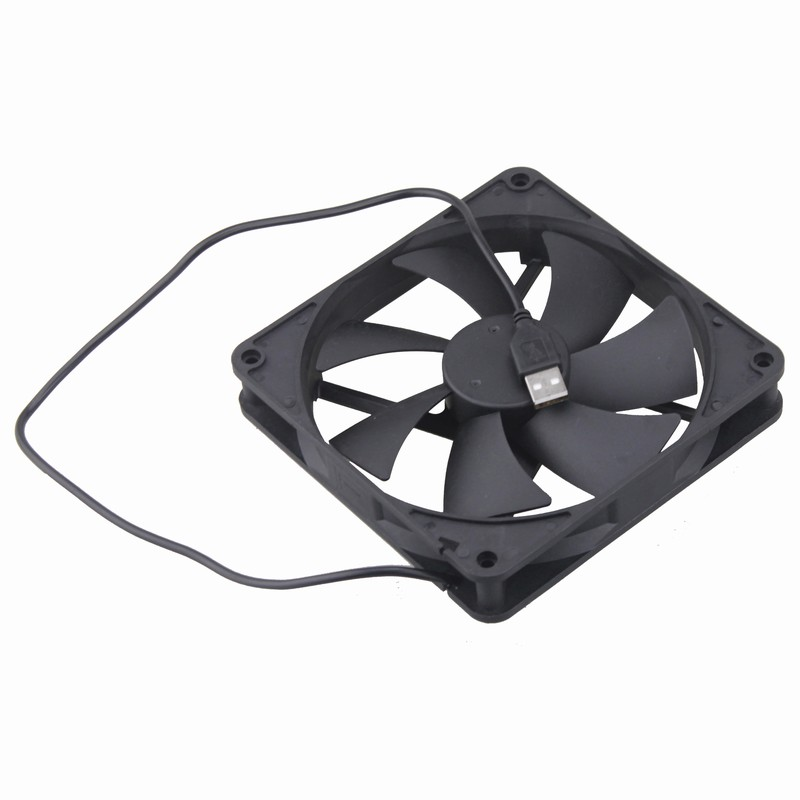 10Pcs Gdstime DC 5V USB Fan 140mm Cooling Fan 140x25mm 14025 Brushless CPU Computer Case Cooling Fan Cooler 14cm wholesale