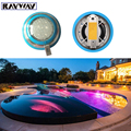 2016 New Arrival Wall Mounted 54W RGB Swimming Pool Light AC 12V IP68 Underwater Lighting for Pond Fountain Decoration