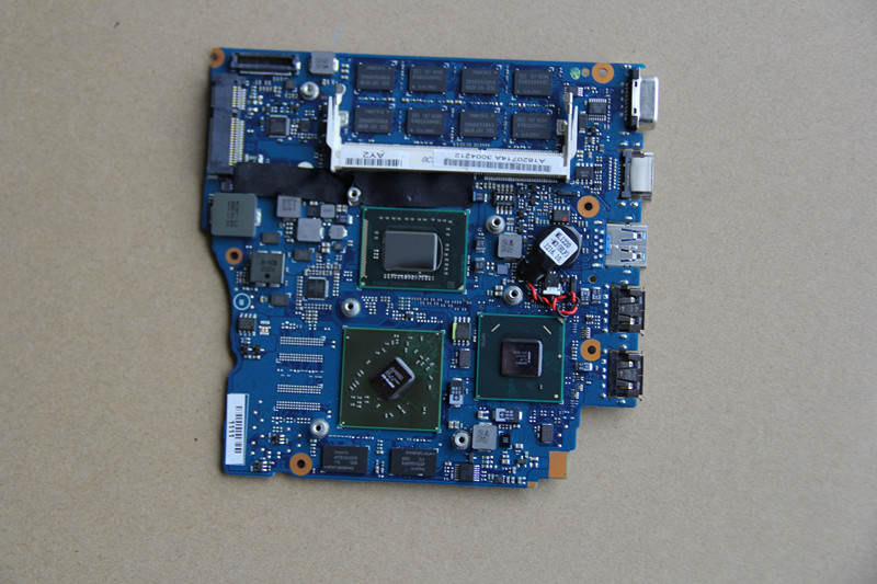 A1820714A For SONY MBX-237 Laptop motherboard 1P-0111200-A013 with <font><b>I5</b></font>-<font><b>2410M</b></font> CPU and 216-0809000 GPU Onboard HM65 fully tested image