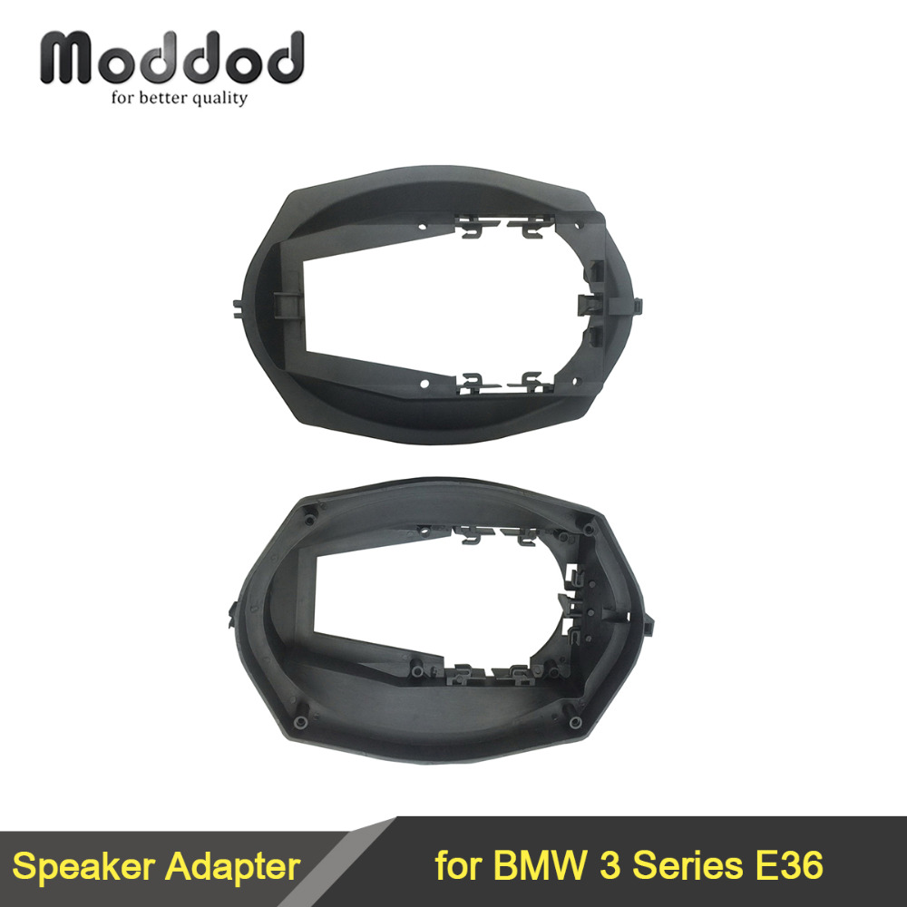 "Bilhøyttaleradapter for 1991-1999 BMW 3-serien E36 6 ""x9"" Bakre høyttaleradaptere Kit Ringer Spacers"
