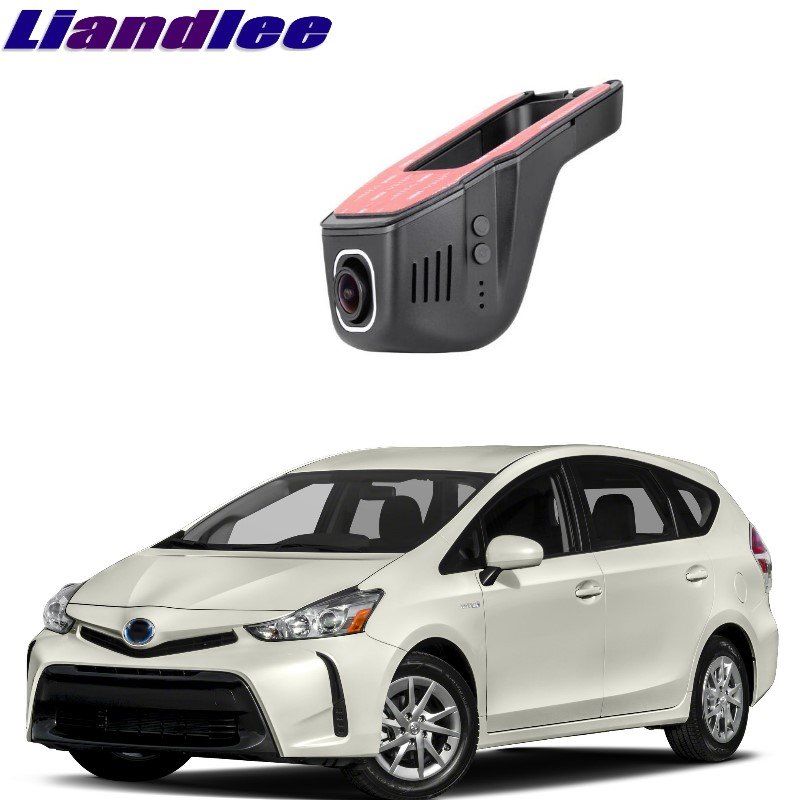 Liandlee For Toyota Prius V ZVW 40 / 41 2011~2018 Car Black Box WiFi DVR Dash Camera Driving Video Recorder estgosz 2300 lumen 2018 u45 led projector uhappy best portable hd usb hdmi tv projector lcd mini proyector 3d home theaterbeamer
