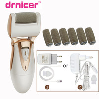 Drnicer Golden Electric Sawing Scholls File Style Feet Care Pedicure Callus Remover Nail File For Feet