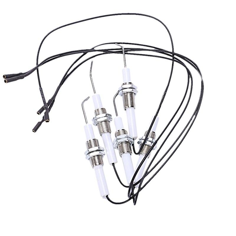 Газовый гриль кнопочная кухонная зажигалка пьезозажигание комплект универсальная Резьбовая пробка 5 шт