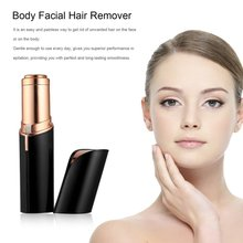 hot deal buy mini female hair removal razor women body face electric lipstick shape shaving tool shaver hair remover wax for depilation