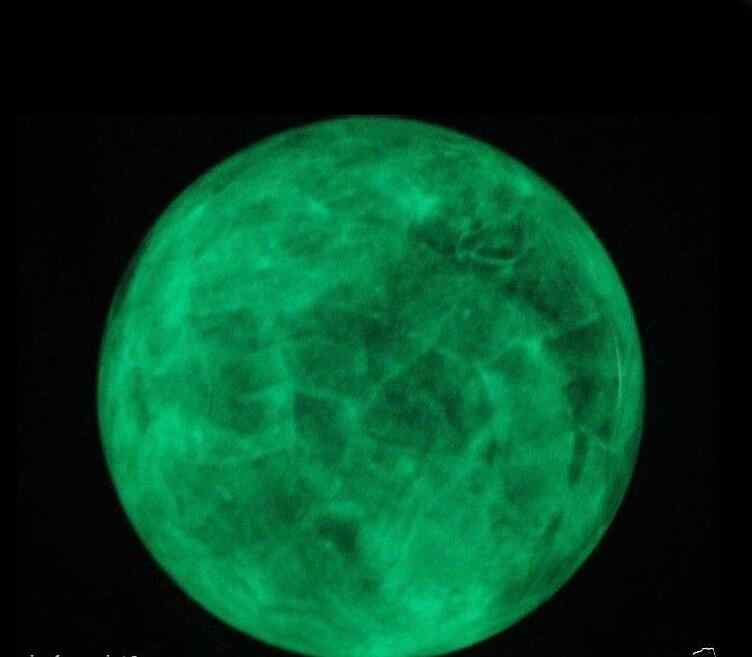 Ruifafa88040128 <AAA + + + 100 мм светится в темноте камень кристалл флюорит насадка шар