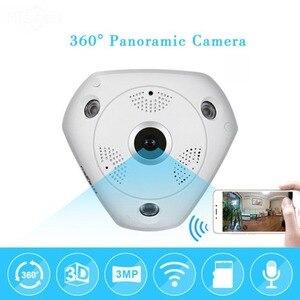 Image 5 - MOOL プロフェッショナル 360 度パノラマ 960 p HD カメラワイヤレス IR 電球魚眼カメラセキュリティ電球 WIFI カメラ