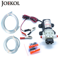 Professional Electric 12V Oil Pump Diesel Fuel Oil Engine Oil Extractor Transfer Pump Free Shipping Suction