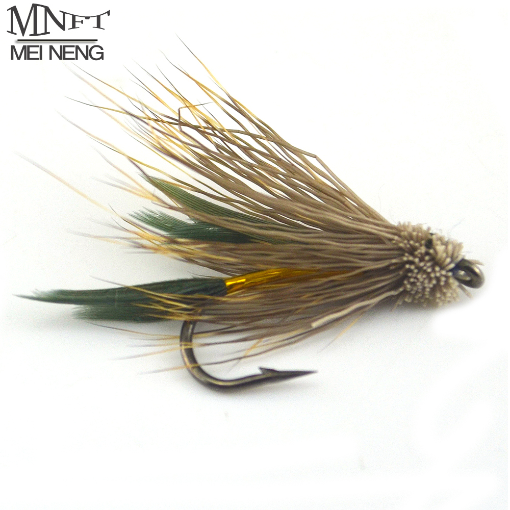 L311 Streamers # 10s 3 Gold Bodied Muddlers Lures