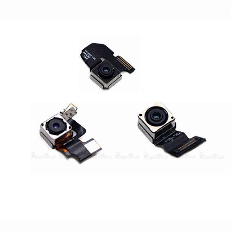 100% NOUVEAU Retour Arrière Principal Objectif Caméra Flex Câble Pièces De Rechange Pour iPhone 5 5S SE 6 6 S 4.7 6 Plus 5.5