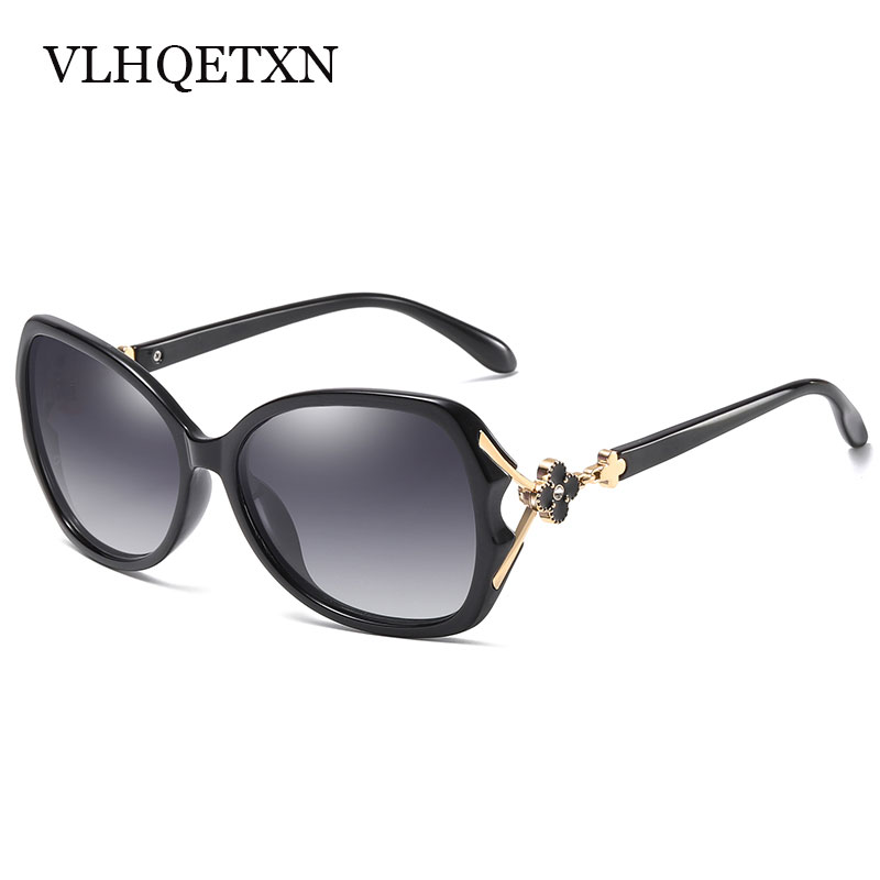 Ladies Sunglasses Women Polarized 2018 Uv400 High Quality Sun glasses Vintage Womens Sunglasses Brand Designer With Crystals
