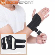 1pcs Adjustable Wrist Brace Steel Wrist Support Wristband Hand Straps Wraps Guard for Splints Carpal Tunnel Arthritis Sprain Gym aolikes 1pcs cotton elastic bandage hand sport wristband gym support wrist brace wrap carpal tunnel