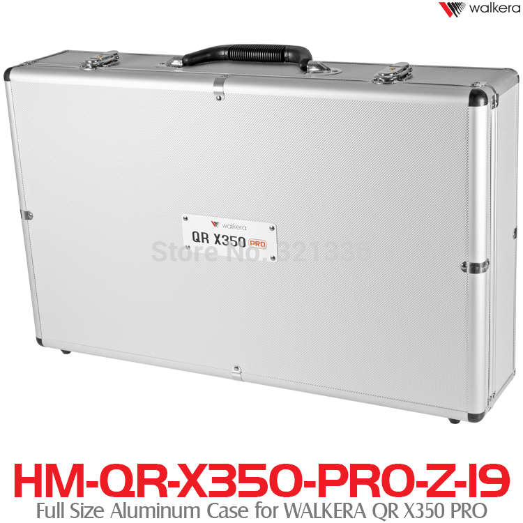 Walkera Quadcopter QR X350 PRO Spare Parts QR X350 PRO-Z-19 Full Size Aluminum Case for WALKERA QR X350 PRO walkera qr x350 pro gps remote control quadcopter bnf1