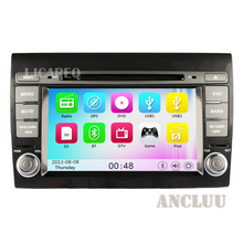 7 pulgadas GPS DVD Del Coche Para Fiat Bravo 2007 2008 2009 2010 2011 2012 Car Stereo Radio Navi con bluetooth 3g WiFi gratuito mapa canbus