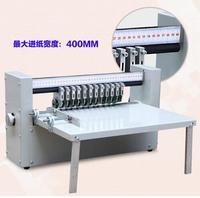 400 мм Стикеры машина с функцией половинной резки с регулируемой скоростью самоклеящаяся бумага резца 220 В Новый RH