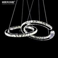 Modern LED Diamond Pendant Light Fixture LED Crystal Lighting Lustres Hanging Drop Abajur Lamp For Dining