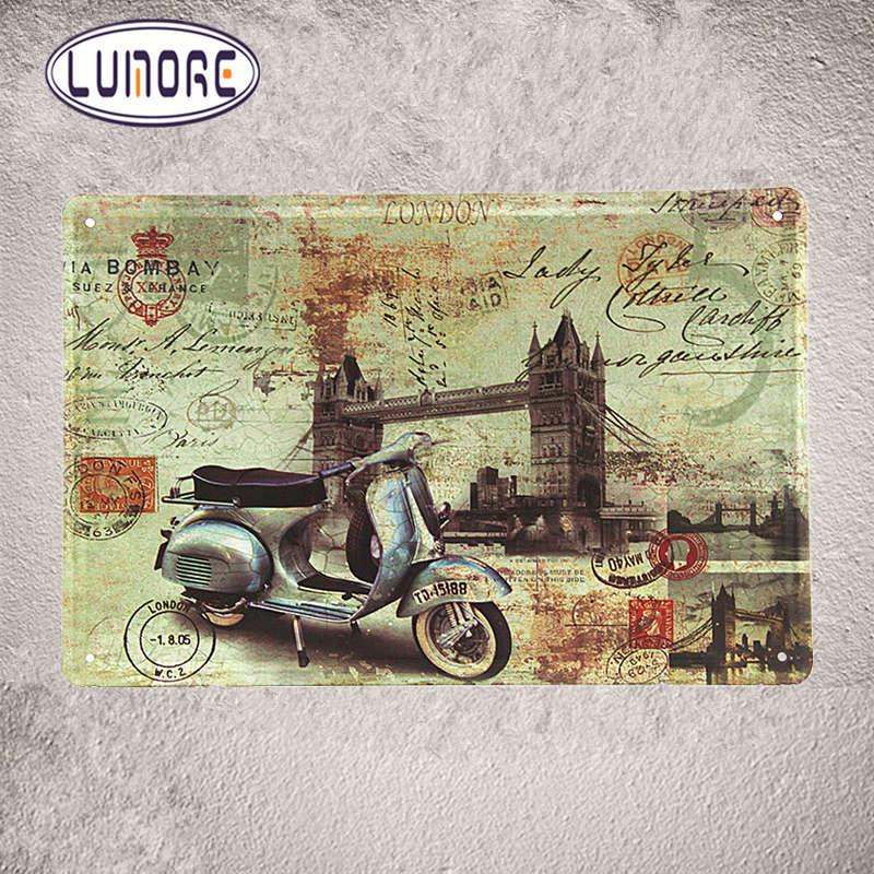 Почтовая открытка мотоцикл