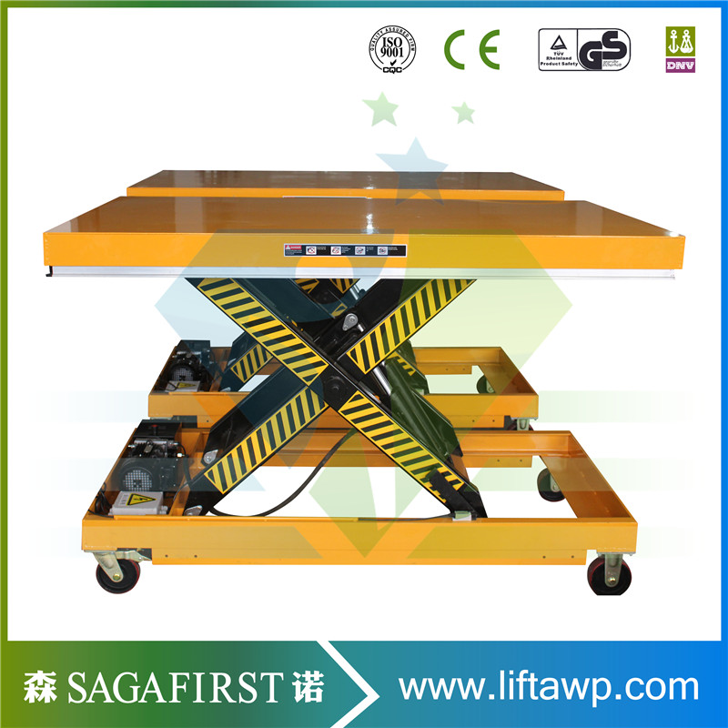 Hydraulic Electric Standard Scissor Lift Table With Europe Quality