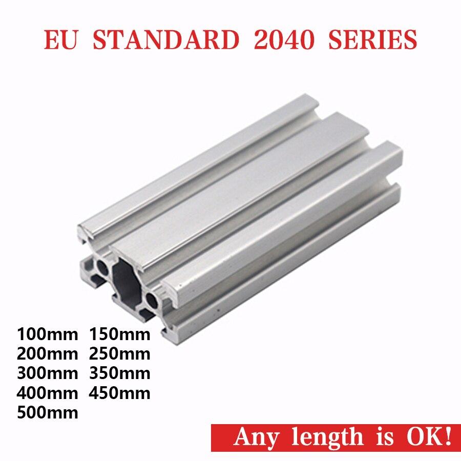 US $0 37 |caluminium profile for automatic door aluminium profiles for  shower enclosures wholesale custom extruding profile bar 2040-in Furniture