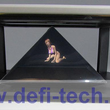 """DfLabs DIY 3D Голографическая проекционная пирамида для телефона Hatsune 3D MV поддержка 3,""""-5,5"""""""